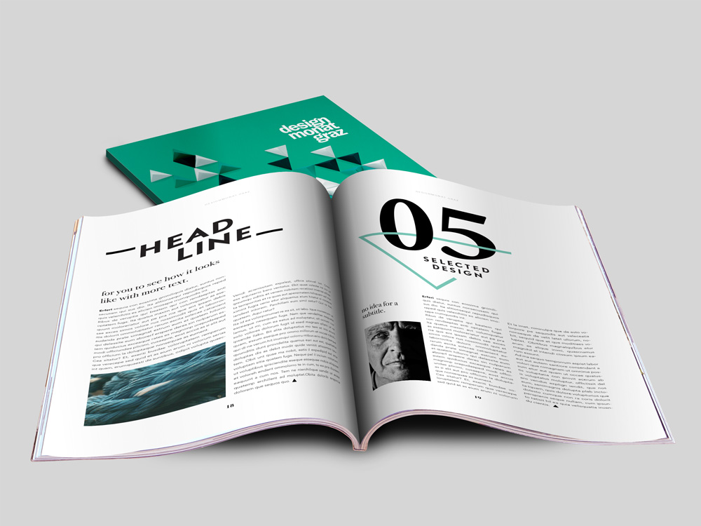Design Monat Graz, Magazine