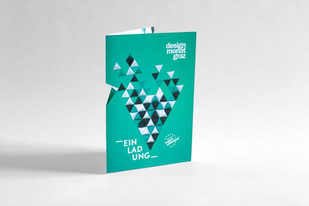 Design Monat Graz, Flyer