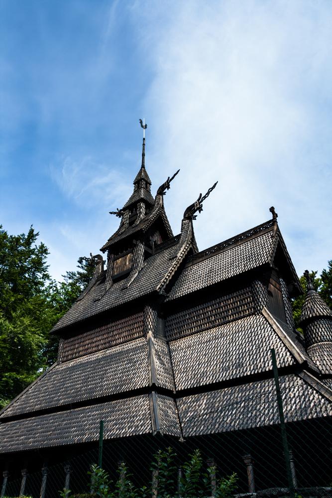 Foto Norway Fantoft Stab Church