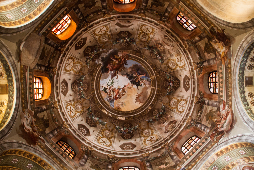 Ravenna, Italy, San Vitalecupola