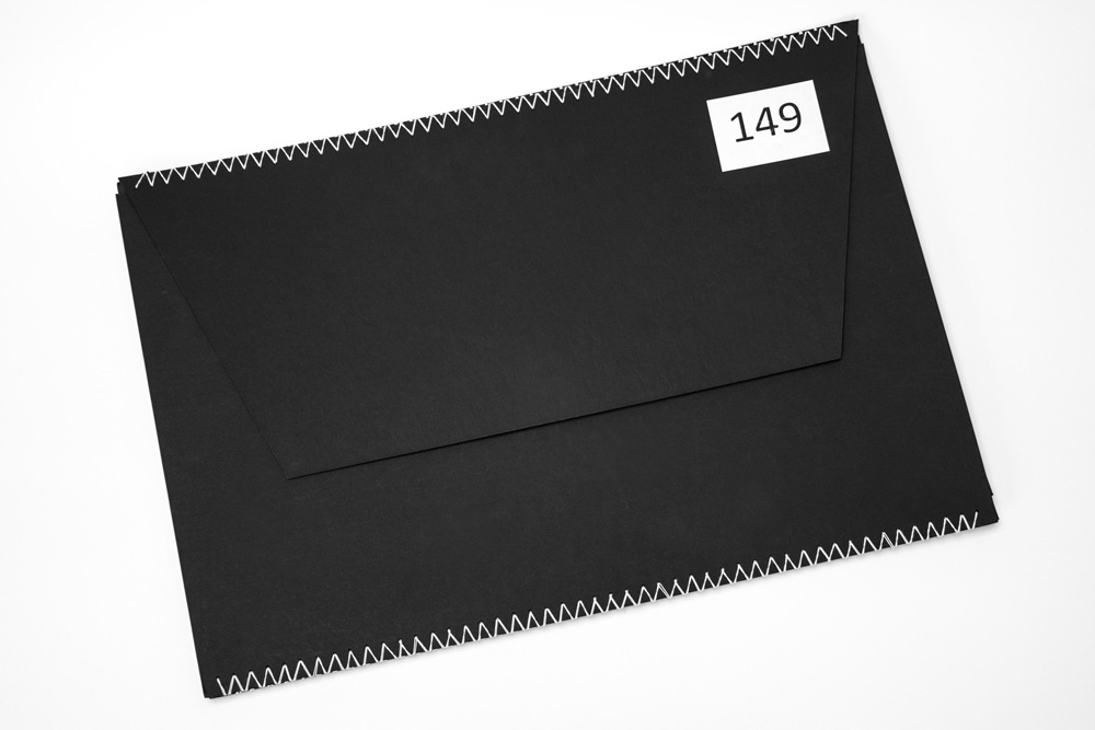 Application Folder In Black For Works In Size A3