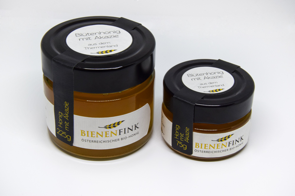Honey Jars In Two Different Sizes