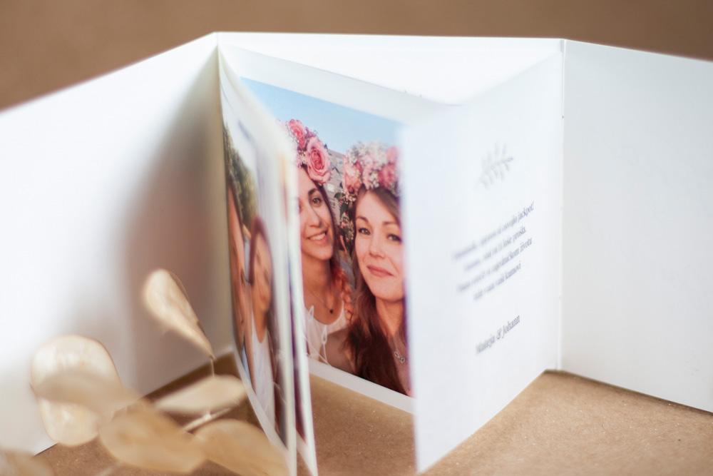 Greeting Card Inside Photo