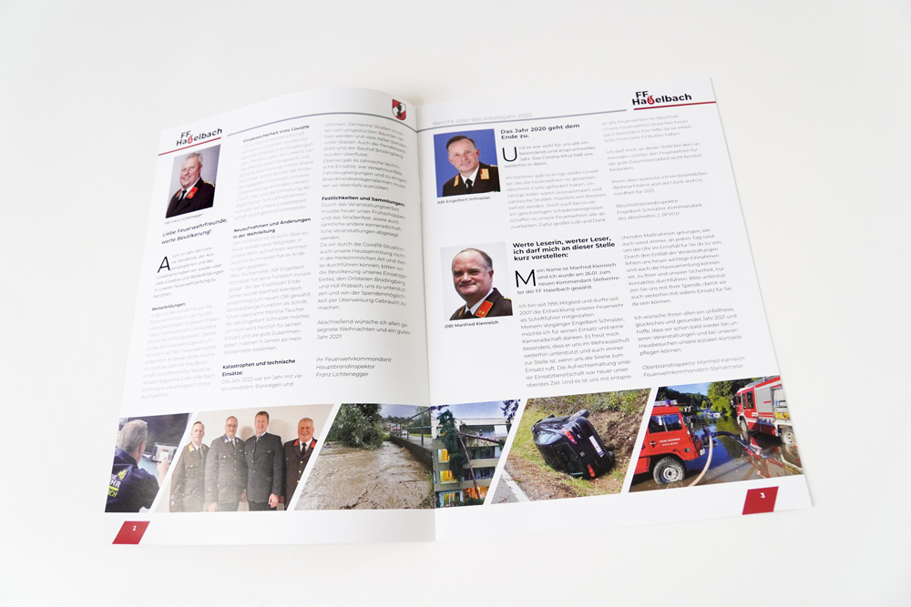 Inside Of The A4 Brochure